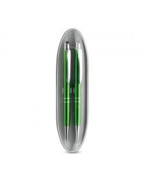 Marieta Set. Set con penna a sfera e matita portamina - Verde chiaro