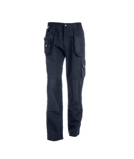 THC WARSAW. Pantaloni da lavoro per uomo - Blu scuro