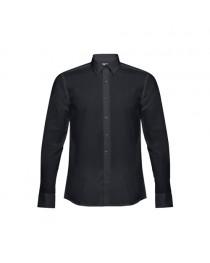THC BATALHA. Camicia popeline da uomo - Nero