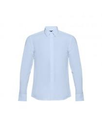 THC BATALHA. Camicia popeline da uomo - Azzurro