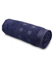 Ariel II. Asciugamano in spugna di cotone - Blu