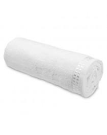 Ariel II. Asciugamano in spugna di cotone - Bianco