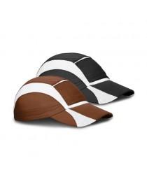 Luiz. Cappellino con visiera - Marrone