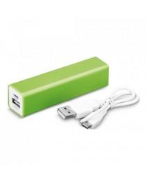 Tesla. Batteria portatile - Verde chiaro