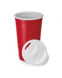 Goblet. Bicchiere da viaggio - Rosso