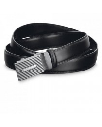San. Cintura da uomo - Nero