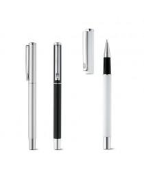 DANEY. Penna roller in alluminio - Bianco