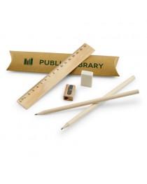 RHOMBUS. Set scolastico per scrivere - Naturale