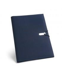 CLARK. Cartella A4 - Blu