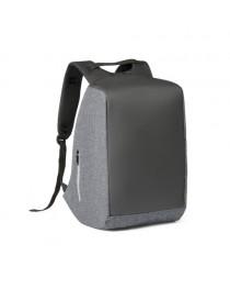 AVEIRO. Zaino per computer portatile da 15.6'' con sistema antifurto - Grigio