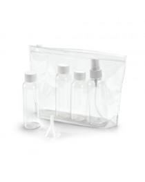 DENIRO. Sacchetto ermetico per cosmetici - Trasparente