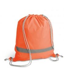 RULES. Zaino a sacca in 210D - Arancione