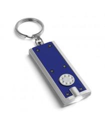 NOHO. Portachiavi con LED - Blu