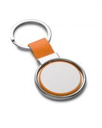 ALBRIGHT. Portachiavi in metallo - Arancione