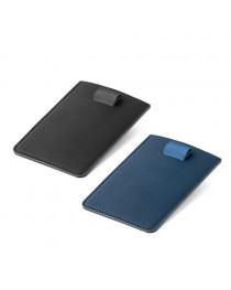 POPPY. Porta tessere con blocco RFID - Blu