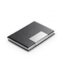 REEVES. Porta tessere in alluminio - Nero