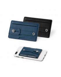 FRANCK. Porta tessere per cellulare con blocco RFID - Blu