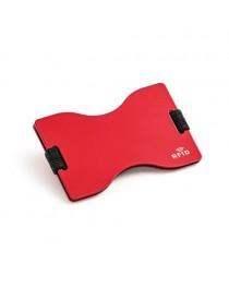 MULLER. Porta tessere con blocco RFID - Rosso