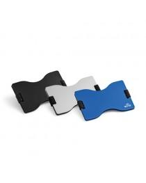 MULLER. Porta tessere con blocco RFID - Blu reale