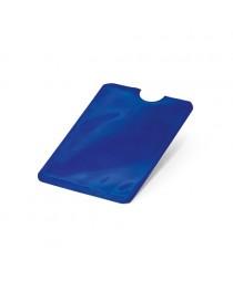 MEITNER. Porta tessere con blocco RFID - Blu reale