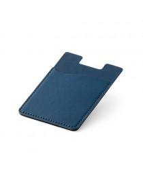 BLOCK. Porta tessere per cellulare con blocco RFID - Blu