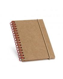 MARLOWE. Block notes in formato tascabile - Rosso