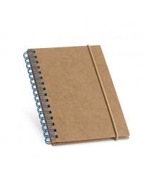 MARLOWE. Block notes in formato tascabile - Azzurro