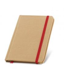 FLAUBERT. Block notes in formato tascabile - Rosso