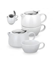 COLE. Set tè - Bianco