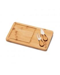 WOODS. Tagliere per formaggi in bambù - Naturale