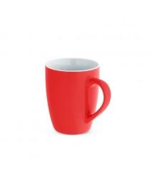 CINANDER. Tazza in ceramica da 370 ml - Rosso