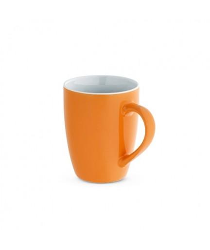 CINANDER. Tazza in ceramica da 370 ml - Arancione