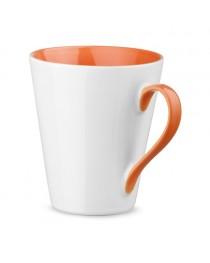 COLBY. Tazza in ceramica da 320 ml - Arancione