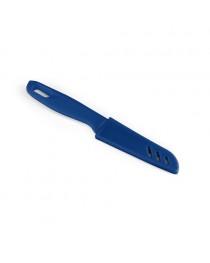 MIKUS. Coltello in acciaio inox e PP - Blu reale