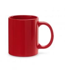 BARINE. Tazza in ceramica da 350 ml - Rosso