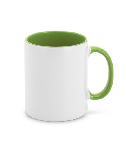 MOCHA. Tazza in ceramica da 350 ml - Verde chiaro