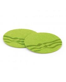 Set di 2 sottobicchieri - Verde chiaro