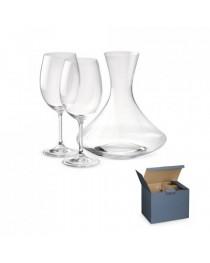 BORDEAUX. Set da vino - Trasparente