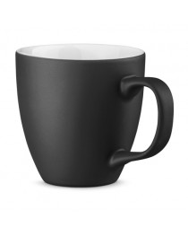 PANTHONY MAT. Tazza in porcellana da 450 ml - Nero