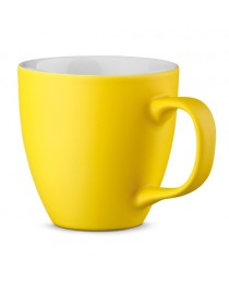 PANTHONY MAT. Tazza in porcellana da 450 ml - Giallo