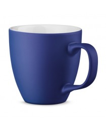 PANTHONY MAT. Tazza in porcellana da 450 ml - Blu reale