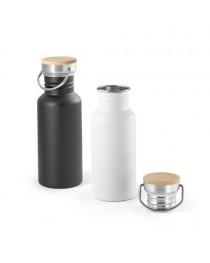 OASIS. Borraccia in acciaio inox da 540 ml - Bianco