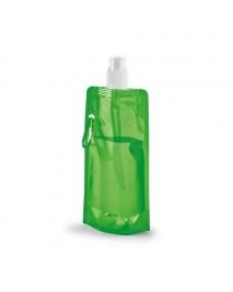 KWILL. Borraccia pieghevole da 460 ml - Verde