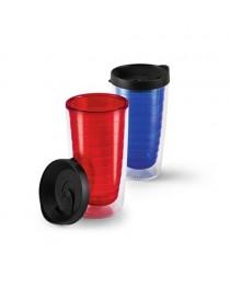 GASOL. Bicchiere da viaggio da 450 ml - Blu reale