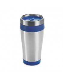 BATUM. Bicchiere da viaggio da 420 ml - Blu reale