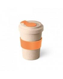 CANNA. Bicchiere da viaggio da 500 ml - Arancione