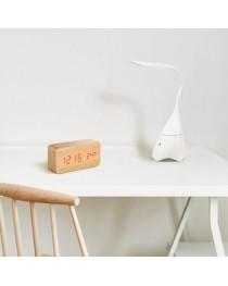 GRAHAME. Lampada da scrivania con altoparlante - Bianco