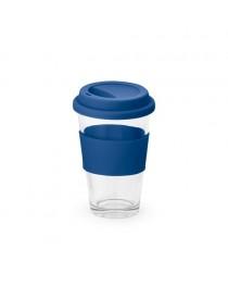BARTY. Bicchiere da viaggio da 330 ml - Blu reale