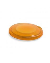 AMELIA. Specchietto da borsetta doppio - Arancione