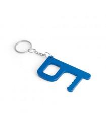 HANDY SAFE. Portachiavi trattamento antibatterico - Blu reale